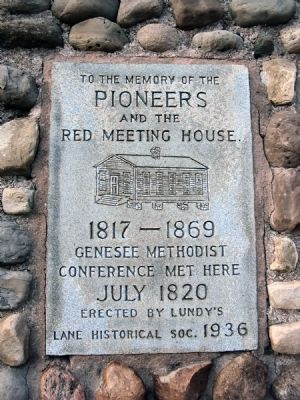 To the Memory of the Pioneers Marker image. Click for full size.
