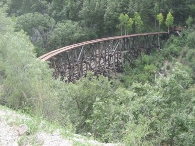 Cloudcroft Trestle Photo, Click for full size