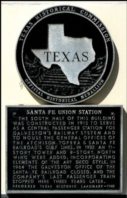 Santa Fe Union Station Marker image. Click for full size.