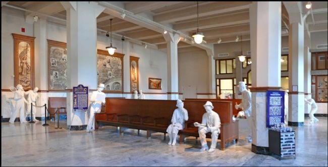 Santa Fe Union Station Interior image. Click for full size.