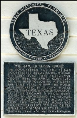 William J. Killeen House Marker image. Click for full size.