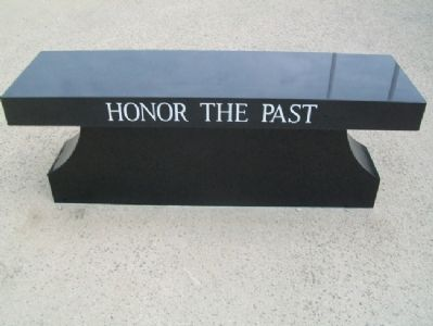 Veterans Memorial Bench Photo, Click for full size