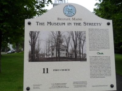 First Church Marker Photo, Click for full size