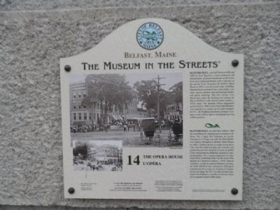 The Opera House Marker Photo, Click for full size