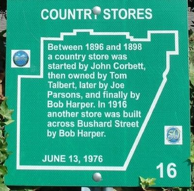 Country Stores Marker Photo, Click for full size