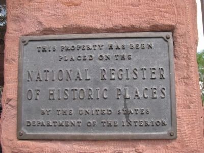Weatherford Hotel NRHP Plaque Photo, Click for full size