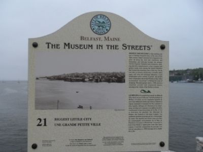 Biggest Little City Marker Photo, Click for full size