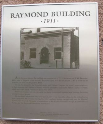 Raymond Building Marker image. Click for full size.