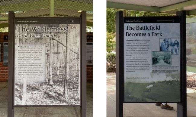 The Wilderness / The Battlefield becomes a Park Marker image. Click for full size.