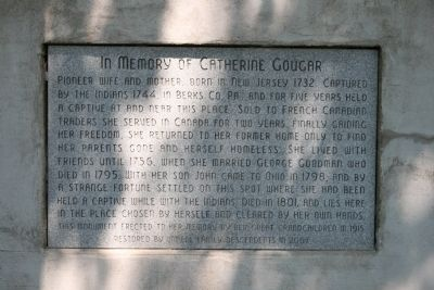 Catherine Cougar Marker Photo, Click for full size
