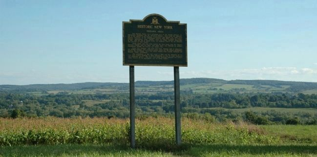 Mohawk Area Marker Overlooking the Mohawk Valley image. Click for full size.