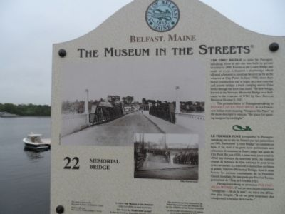 Memorial Bridge Marker Photo, Click for full size