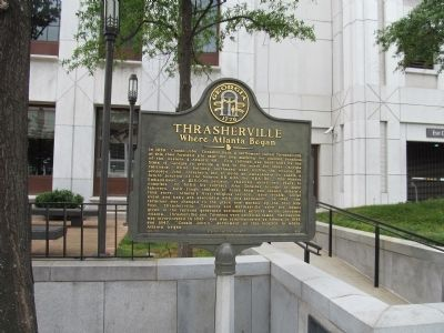 Thrasherville Marker Photo, Click for full size