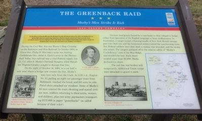 The Greenback Raid Marker image. Click for full size.