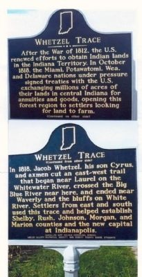 Whetzel Trace Marker Photo, Click for full size