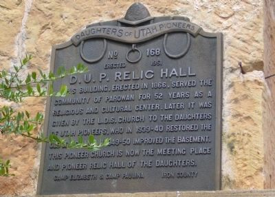 D.U.P. Relic Hall Marker image. Click for full size.