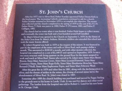 St. John's Church Marker image. Click for full size.