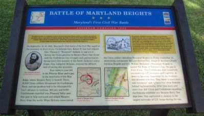 Battle of Maryland Heights Marker image. Click for full size.