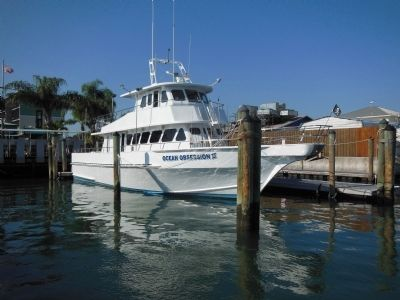 Ocean Obsession Charter Fishing Boat image. Click for full size.
