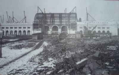 Union Station under construction Photo, Click for full size
