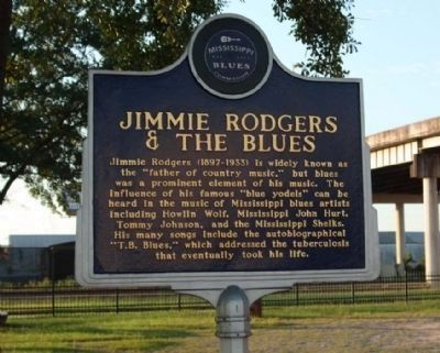 Jimmie Rodgers & The Blues Marker Photo, Click for full size