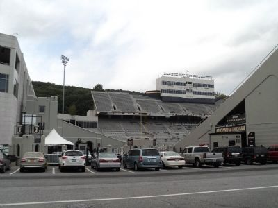 Michie Stadium and Marker image. Click for full size.