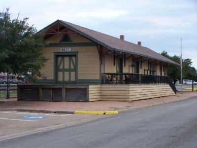 The Katy Depot at West Photo, Click for full size