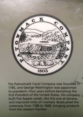 Patowmack Canal Company Logo image. Click for full size.