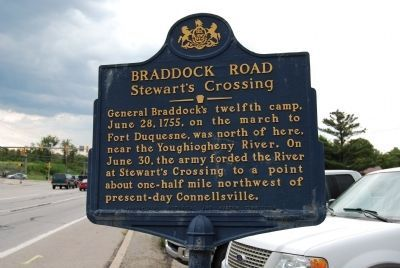 Braddock Road Marker image. Click for full size.