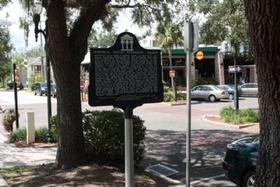 Memorial United Methodist Church Marker seen along Sixth Street near Centre Street image. Click for full size.
