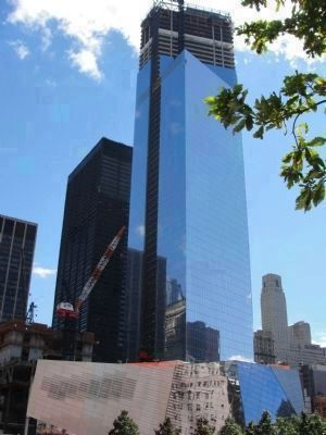 """One World Trade Center"" (soon to be the the tallest building in North America), Photo, Click for full size"