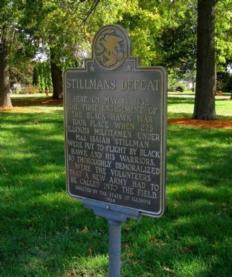 Stillman's Defeat Marker image. Click for full size.
