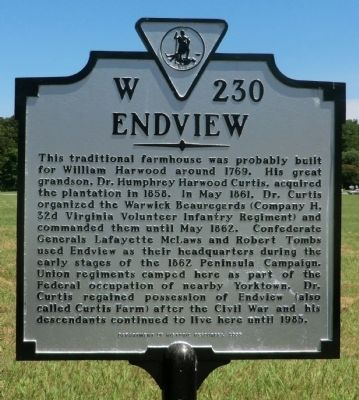 Endview Marker Photo, Click for full size