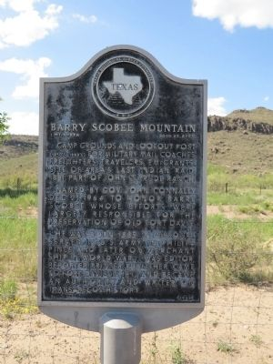 Barry Scobee Mountain Marker image. Click for full size.