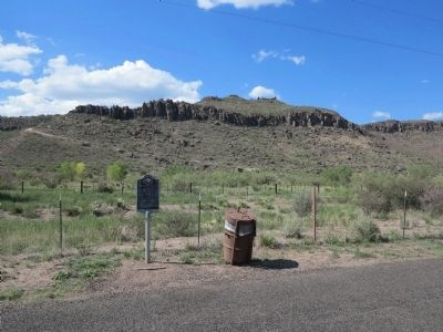 Barry Scobee Mountain Marker Photo, Click for full size