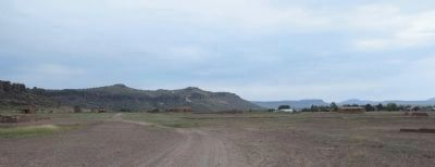 San Antonio - El Paso Road and Painted Comanche Camp in distance image. Click for full size.