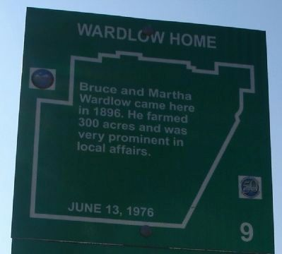 Wardlow Home Marker image. Click for full size.