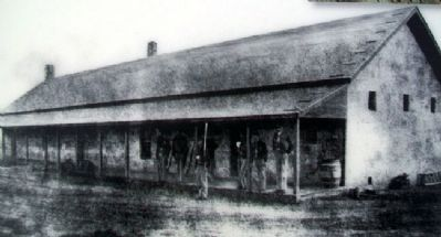 Guardhouse Photo on Marker image. Click for full size.