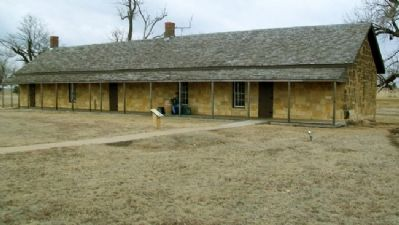 Guardhouse and Marker Photo, Click for full size