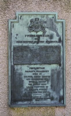 Fort Dewart Monument image. Click for full size.