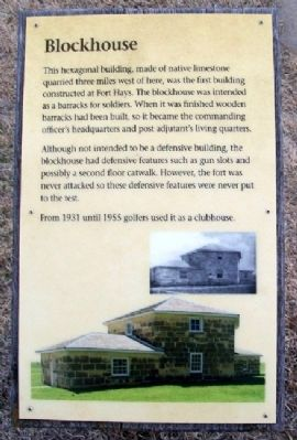 Blockhouse Marker Photo, Click for full size