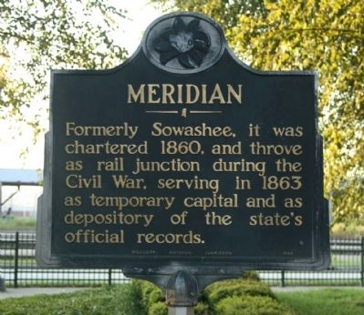Meridian Marker image. Click for full size.