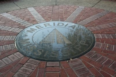 a Meridian Marker at Union Station Photo, Click for full size