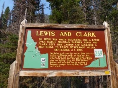 Lewis and Clark Marker image. Click for full size.