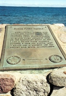 Sugar Point Battle Marker image. Click for full size.