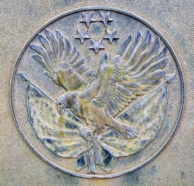 Fort Hays State University War Memorial Detail Photo, Click for full size