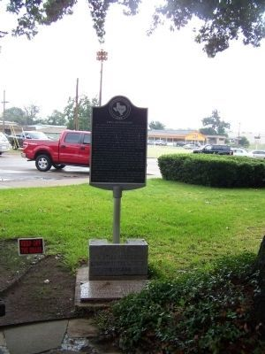 YMCA of Corsicana Marker near near N 13th Street Photo, Click for full size