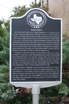 Whitney Marker image. Click for full size.