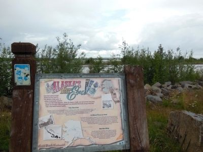 Alaska's Gold Rush Era Marker image. Click for full size.