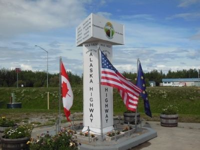 Delta Junction, Crossroads of Alaska Photo, Click for full size